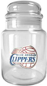 NBA Los Angeles Clippers Glass Candy Jar