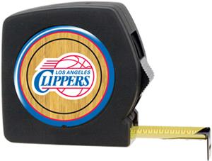 NBA Clippers 25' Tape Measure w/Crystal Coat Logo