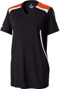 Holloway Ladies Exult Micro-Interlock Shirts