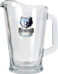NBA Memphis Grizzlies 1/2 Gallon Glass Pitcher
