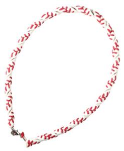 Pro Nine Youth Baseball Softball Leather Necklaces