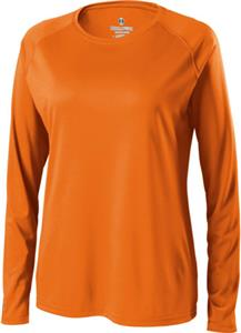 Holloway Ladies Spark Micro-Interlock Long Sleeve