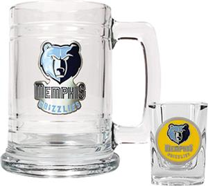 NBA Memphis Grizzlies Boilermaker Gift Set