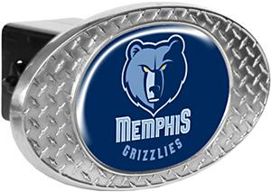 NBA Memphis Grizzlies Diamond Plate Hitch Cover