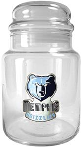 NBA Memphis Grizzlies Glass Candy Jar