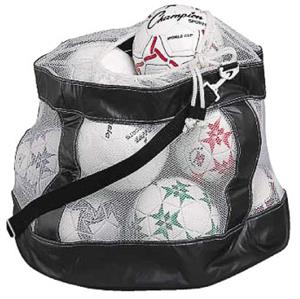 Champion Sports Deluxe Mesh Soccer Ball Bags