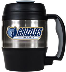 NBA Grizzles 52oz Stainless Macho Travel Mug