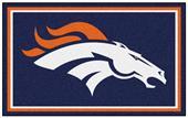 Fan Mats NFL Denver Broncos 4x6 Rug