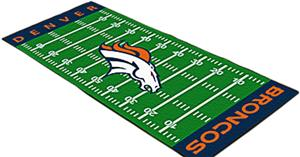 Fan Mats Denver Broncos Football Field Runner