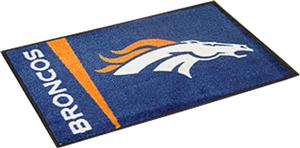 Fan Mats Broncos Uniform Inspired Starter Mats