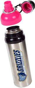 NBA Memphis Grizzlies Water Bottle w/Pink Top