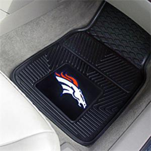 Fan Mats Denver Broncos Vinyl Car Mats