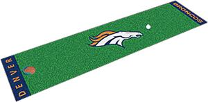Fan Mats Denver Broncos Putting Green Mat