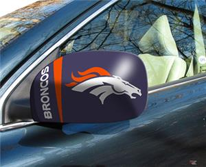 Fan Mats Denver Broncos Small Mirror Cover