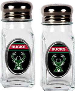 NBA Milwaukee Bucks Salt & Pepper Shaker Set