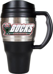 NBA Milwaukee Bucks Stainless 20oz Travel Mug