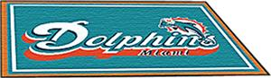 Fan Mats Miami Dolphins 5x8 Rug