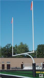 Gared Redzone High School Football Goalposts