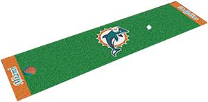 Fan Mats Miami Dolphins Putting Green Mat