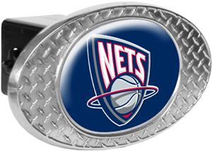 NBA New Jersey Nets Diamond Plate Hitch Cover