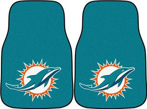 Fan Mats Miami Dolphins Carpet Car Mats