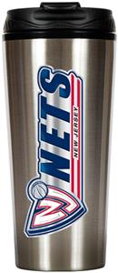 NBA New Jersey Nets 16oz Travel Tumbler