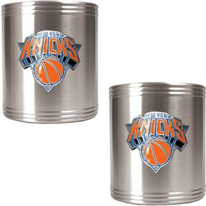 NBA New York Knicks Stainless Steel Can Holders