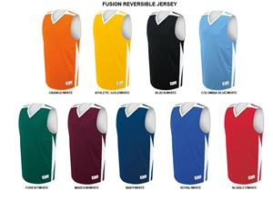 Fusion Reversible Basketball Jerseys Adult/Youth