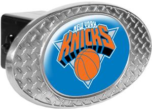 NBA New York Knicks Diamond Plate Hitch Cover