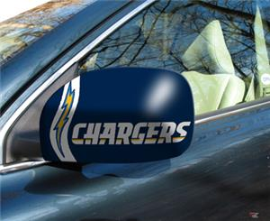 Fan Mats San Diego Chargers Small Mirror Cover