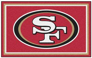 Fan Mats NFL San Francisco 49ers 4x6 Rug