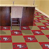 Fan Mats NFL San Francisco 49ers Carpet Tiles