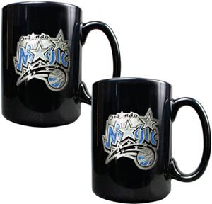 NBA Orlando Magic Black Ceramic Mug (Set of 2)