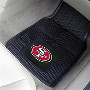 Fan Mats San Francisco 49ers Vinyl Car Mats
