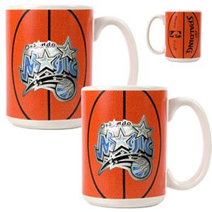 NBA Orlando Magic GameBall Mug (Set of 2)