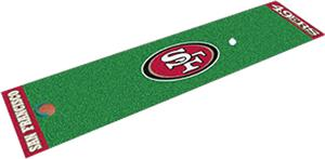 Fan Mats San Francisco 49ers Putting Green Mat