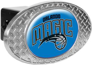 NBA Orlando Magic Diamond Plate Hitch Cover
