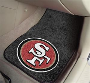 Fan Mats San Francisco 49ers Carpet Car Mats (set)