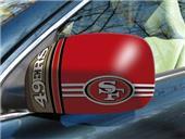 Fan Mats San Francisco 49ers Small Mirror Cover
