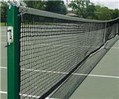 "Gared 3"" Square Championship Steel Tennis Posts"