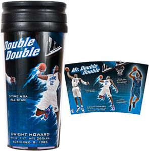 NBA Orlando Magic Dwight Howard Travel Tumbler