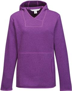 Womens Paige Sweater Fleece Hooded Pullover