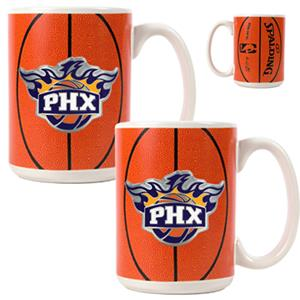 NBA Phoenix Suns GameBall Mug (Set of 2)