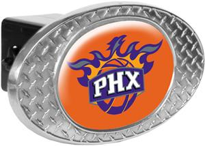 NBA Phoenix Suns Diamond Plate Hitch Cover