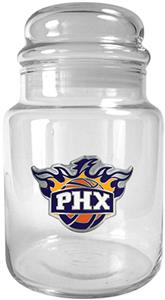 NBA Phoenix Suns Glass Candy Jar