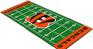 Fan Mats Cincinnati Bengals Football Field Runner