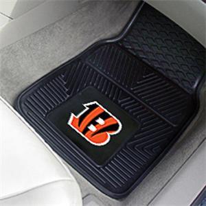 Fan Mats Cincinnati Bengals Vinyl Car Mats