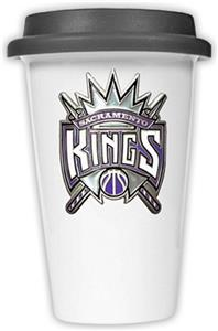 NBA Sacramento Kings Ceramic Cup with Black Lid