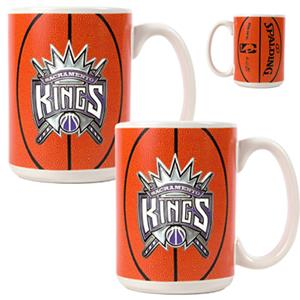 NBA Sacramento Kings GameBall Mug (Set of 2)