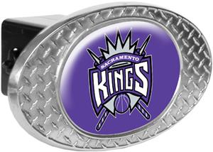 NBA Sacramento Kings Diamond Plate Hitch Cover